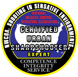 National Wildlife Control Operators Association Shooting in Sensitive Environments Expert Certified Urban Sharpshooter