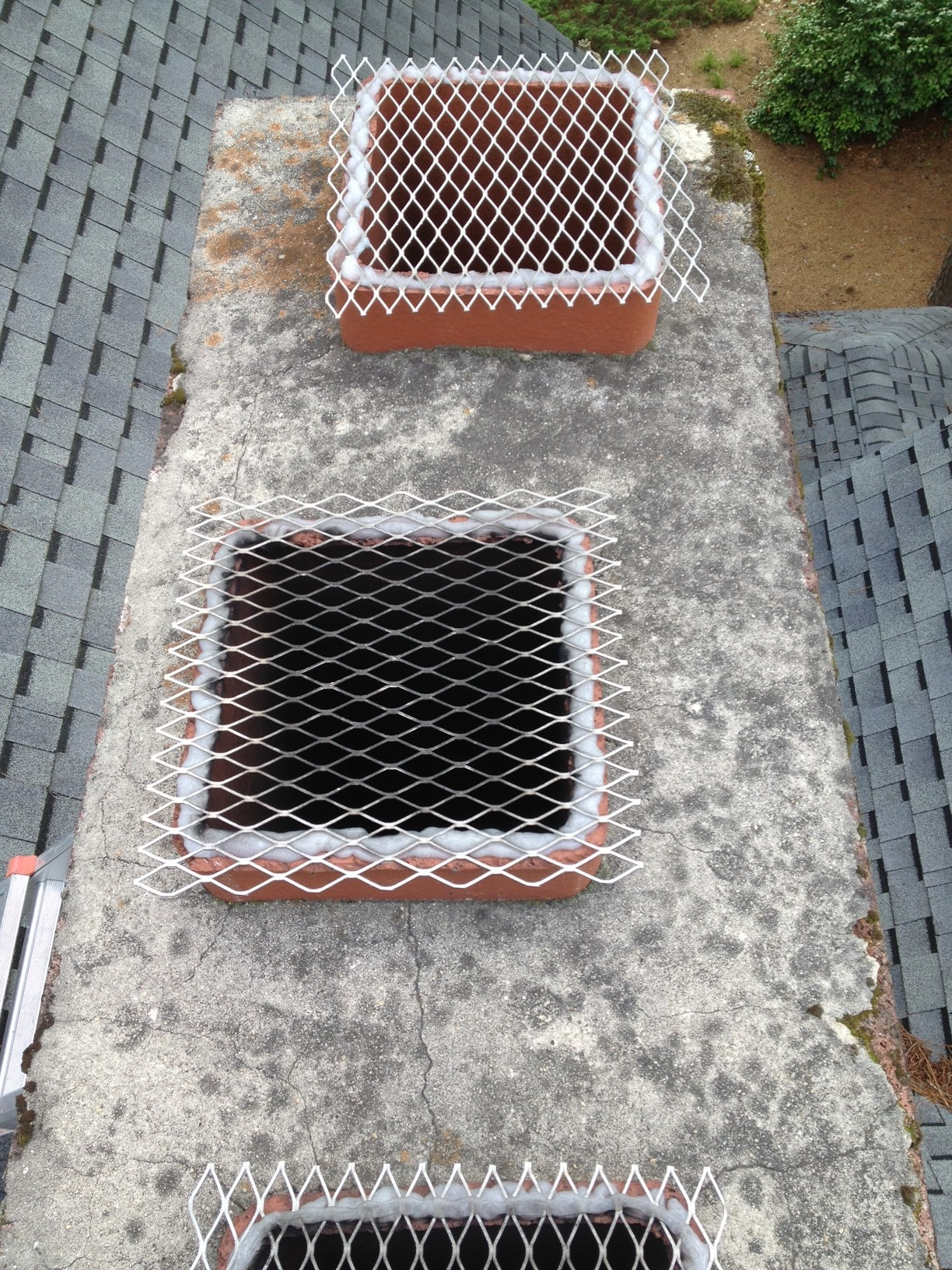 Chimney Before Treatment