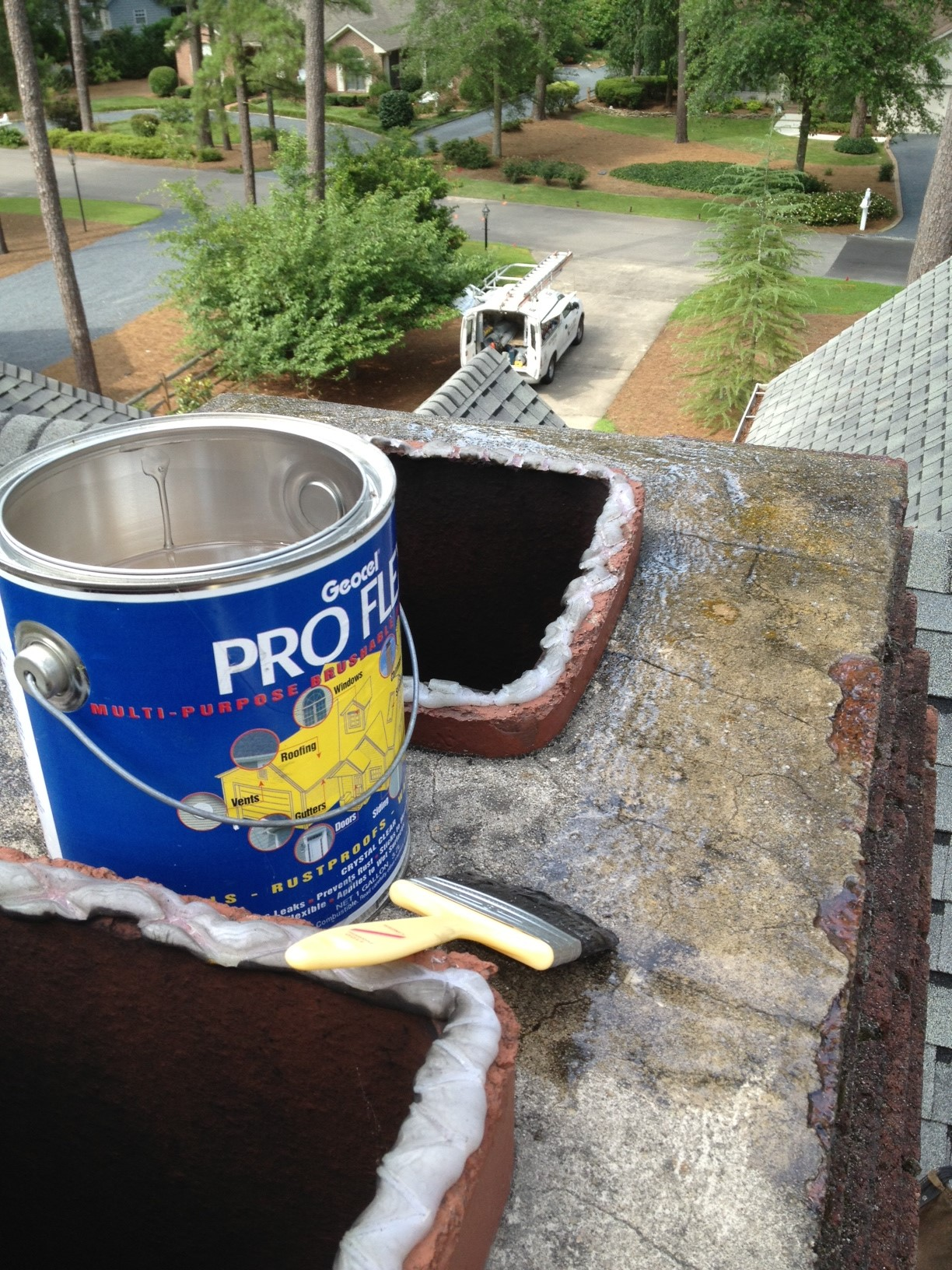 Chimney Treatment During