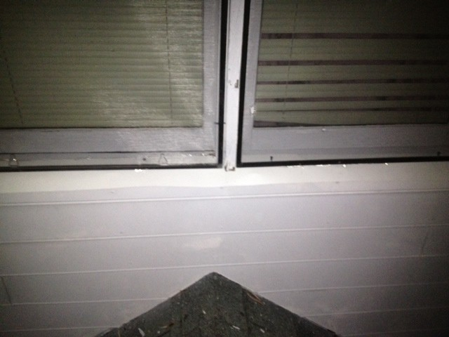 Rotten Window Sill After
